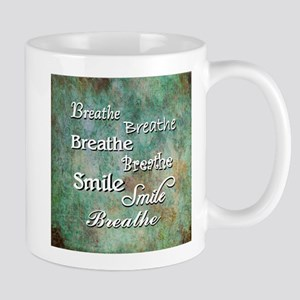 Breathe Smile Breathe Meme Mugs