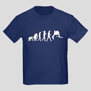 Parallel Bars Gymnastics Kids Dark T-Shirt