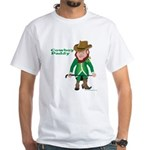 Cowboy Paddy White T-Shirt