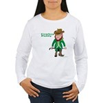 Cowboy Paddy Women's Long Sleeve T-Shirt