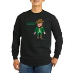 Cowboy Paddy Long Sleeve Dark T-Shirt