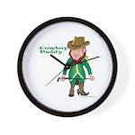 Cowboy Paddy Wall Clock