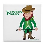 Cowboy Paddy Tile Coaster