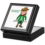 Cowboy Paddy Keepsake Box