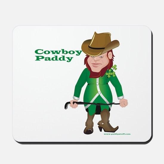 Cowboy Paddy Mousepad