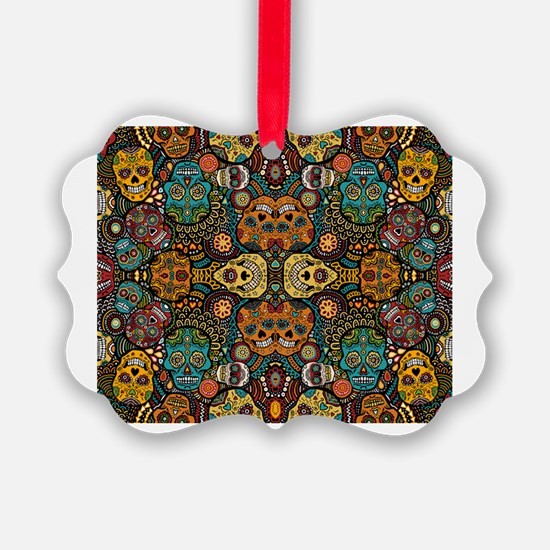 Cute Day of the dead Ornament