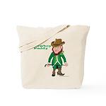 Cowboy Paddy Tote Bag