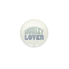Monkey Lover Primate Zoo Animal Mini Button (100 p