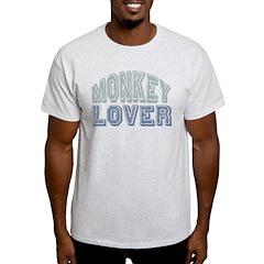 Monkey Lover Primate Zoo Animal T-Shirt