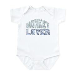 Monkey Lover Primate Zoo Animal Infant Bodysuit
