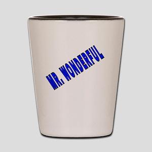 MR. WONDERFUL Shot Glass