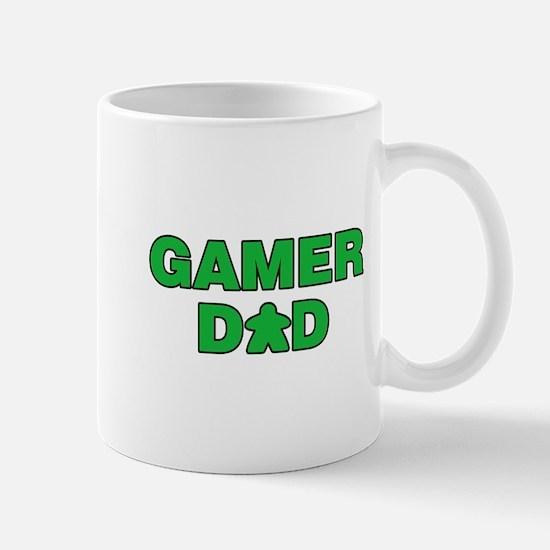 Gamer Dad Green Mugs