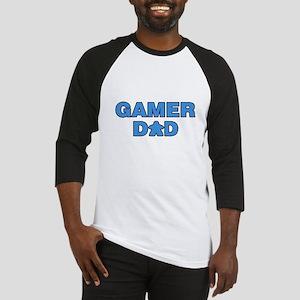Gamer Dad Blue Baseball Jersey