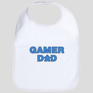 Gamer Dad Blue Bib