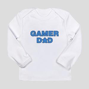Gamer Dad Blue Long Sleeve T-Shirt