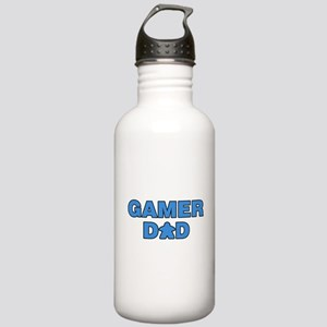 Gamer Dad Blue Stainless Water Bottle 1.0L