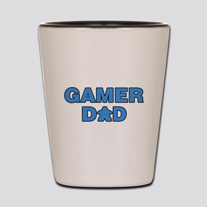 Gamer Dad Blue Shot Glass
