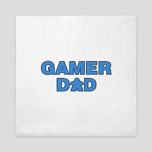 Gamer Dad Blue Queen Duvet