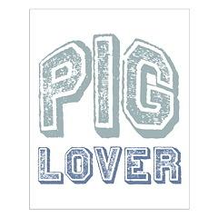 Pig Lover Piglet Farm Animal Posters