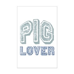 Pig Lover Piglet Farm Animal Posters