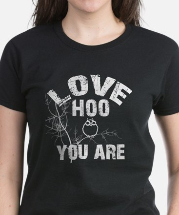 Love Who you are Women's Dark T-Shirt