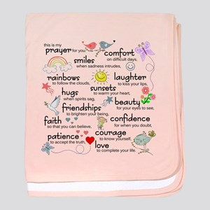 My Prayer For You baby blanket