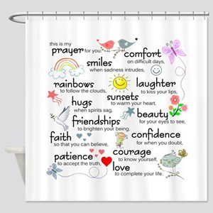 My Prayer For You Shower Curtain