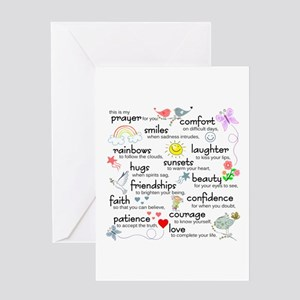 Friend friendship saying sayings greeting cards cafepress my prayer for you greeting card m4hsunfo