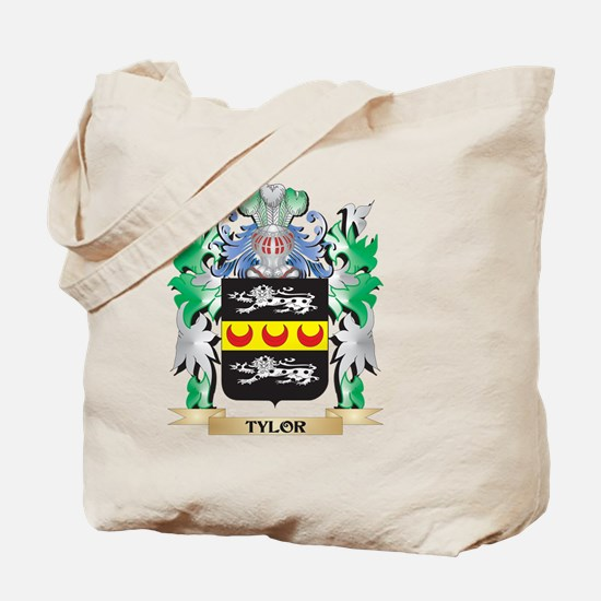 Tylor Coat of Arms - Family Crest Tote Bag