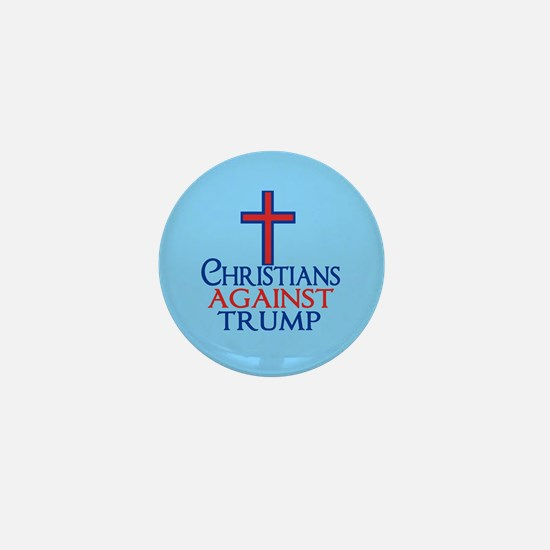 Christians Against Trump Mini Button