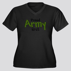 Proud Army Brat Plus Size T-Shirt