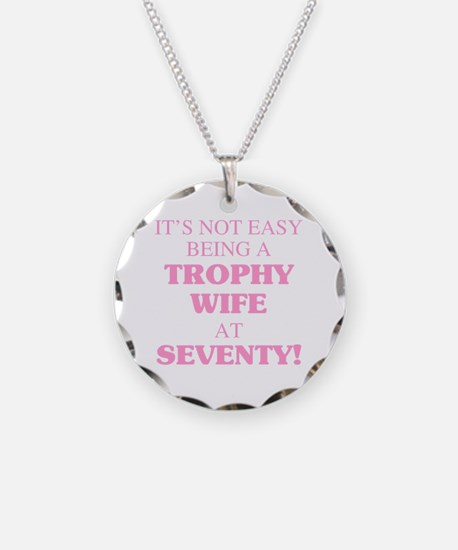 Cool 70th birthday Necklace Circle Charm