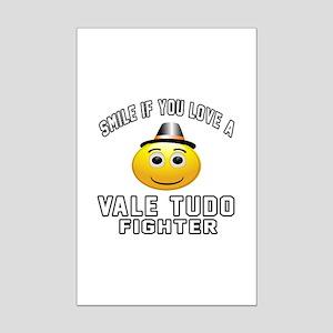 Vale Tudo Fighter Designs Mini Poster Print