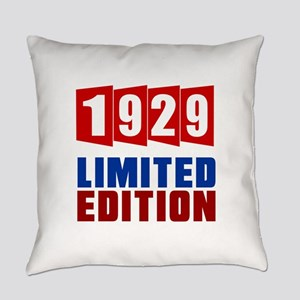 1929 Limited Edition Birthday Everyday Pillow