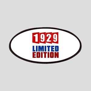 1929 Limited Edition Birthday Patch