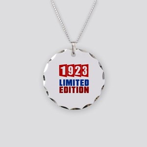 1923 Limited Edition Birthda Necklace Circle Charm