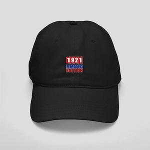 1921 Limited Edition Birthday Black Cap
