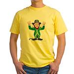 Aussie Paddy Yellow T-Shirt