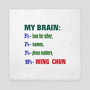 My Brain, 90% Wing Chun Queen Duvet