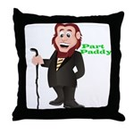 Part Paddy Throw Pillow