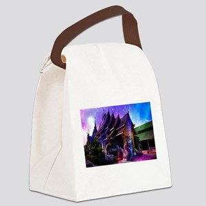 Throughout Time and Space Canvas Lunch Bag