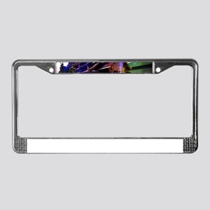 Throughout Time and Space License Plate Frame