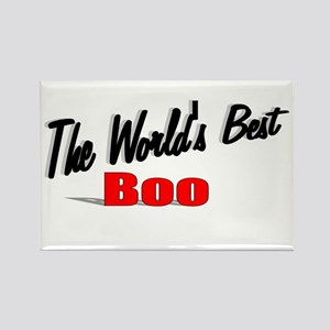 """""""The World's Best Boo"""" Rectangle Magnet"""