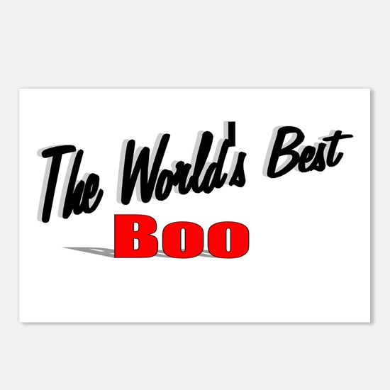 """The World's Best Boo"" Postcards (Package of 8)"