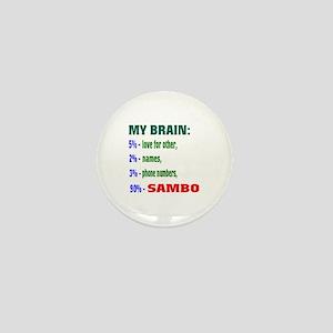 My Brain, 90% Sambo Mini Button