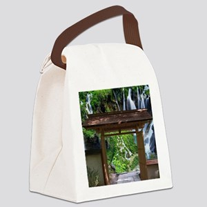 Pathway to Paradise Canvas Lunch Bag