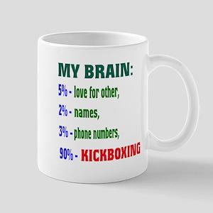 My Brain, 90% Kickboxing Mug