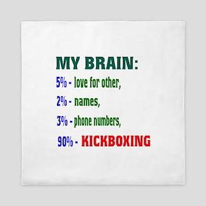 My Brain, 90% Kickboxing Queen Duvet
