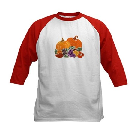 Autumn Harvest Kids Baseball Jersey