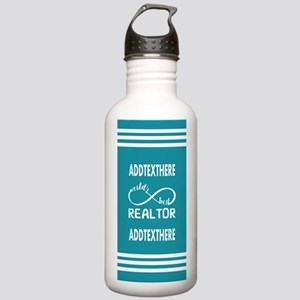 Real Estate Gifts Pers Stainless Water Bottle 1.0L